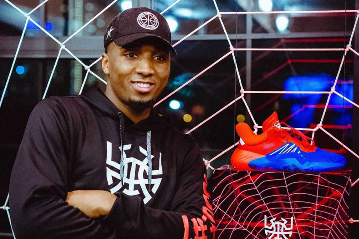 6df971ad6f1f7 Donovan Mitchell and Adidas unveil signature shoe  D.O.N. Issue  1 . New ...