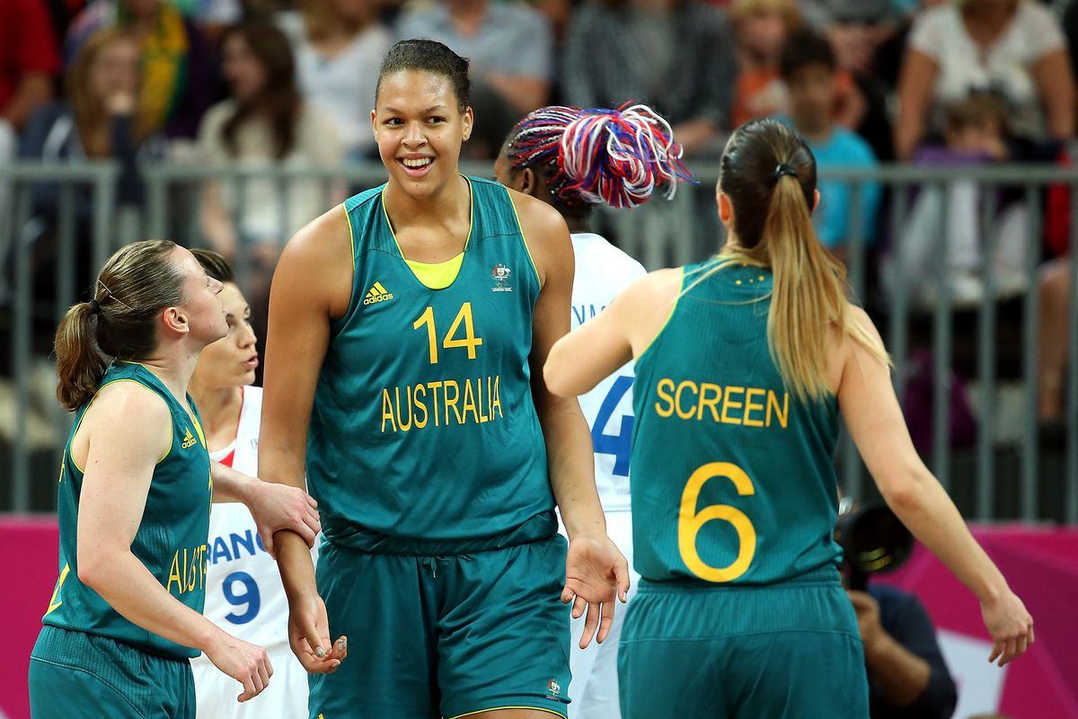 Will the WNBA benefit from the potential return of 6-foot-8 center Liz Cambage to the Tulsa Shock after the 2012 London Olympics?<em> Photo by Christian Petersen/Getty Images.</em>