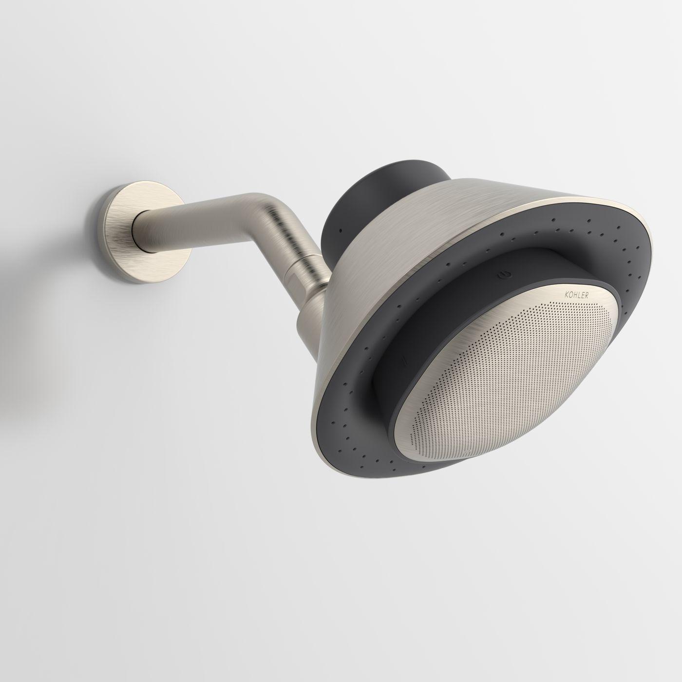 Kohler Puts An Alexa Enabled Smart Speaker In A Showerhead