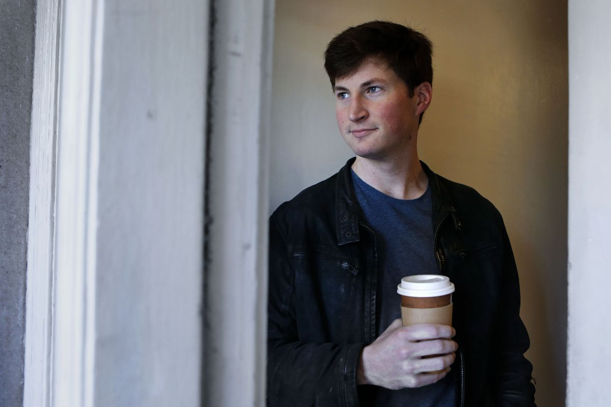 Rob Rhinehart the founder and CEO of Soylent as seen on Thursday April 17, 2014, in San Francisco, Calif. Soylent designed by software engineer Rhinehart as a way to get all the nutrients needed by the body without the time, money, and effort that usuall