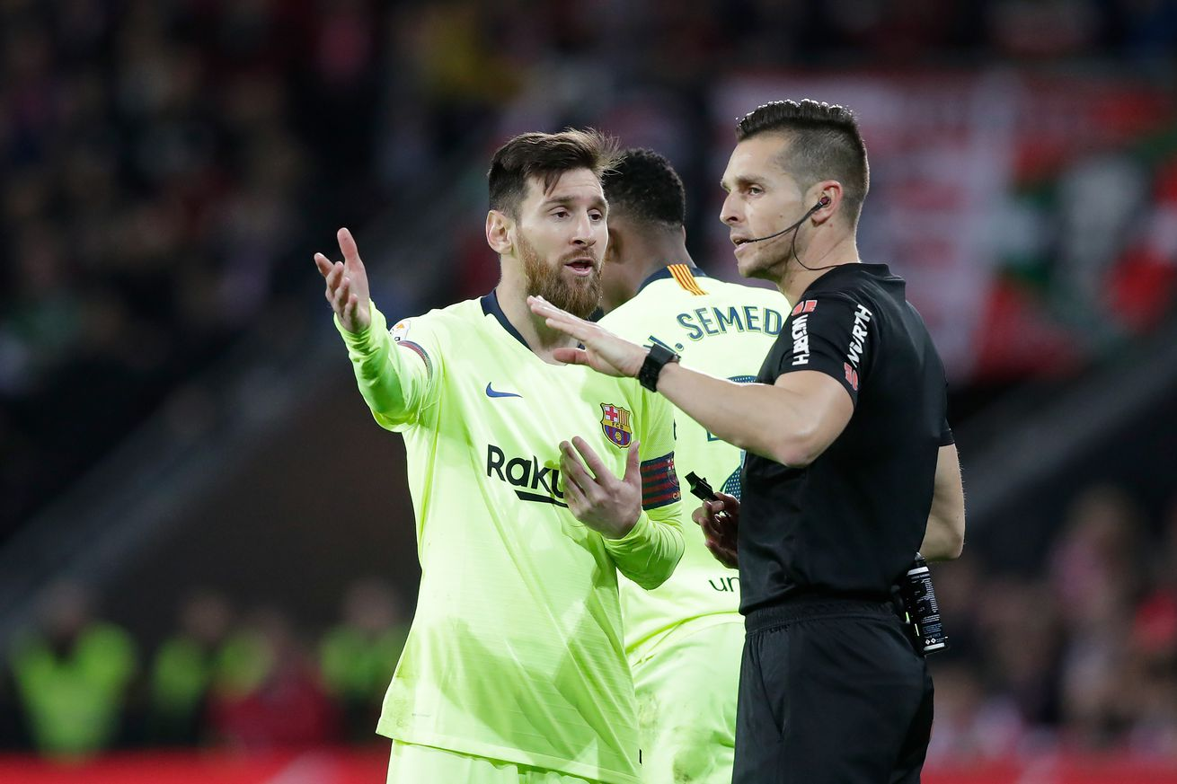La Liga announce referee for Barça-Bilbao