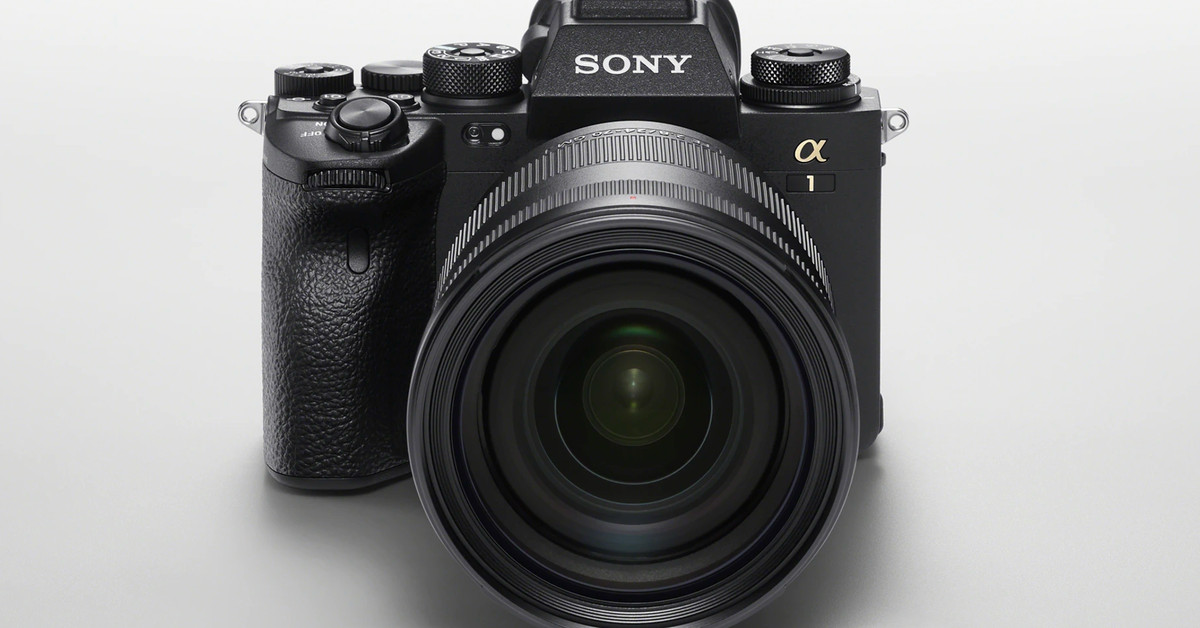 The Alpha 1 is Sony's new flagship camera with monstrous specs and a $6,500 price