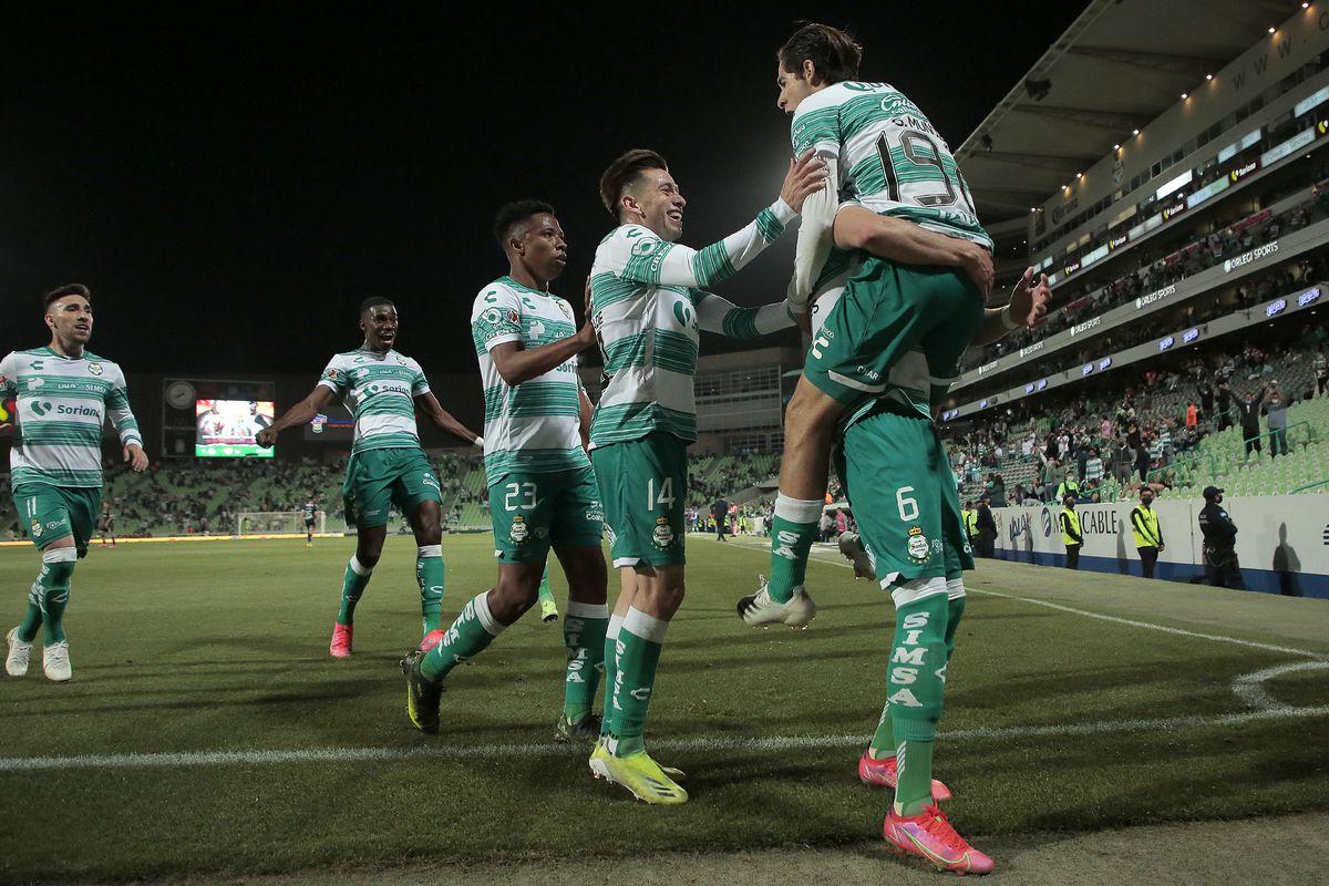 Santos Laguna v Necaxa - Torneo Guard1anes 2021 Liga MX