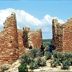 The ruins at Hovenweep National Park are one of San Juan's scenic wonders that attracts visitors.