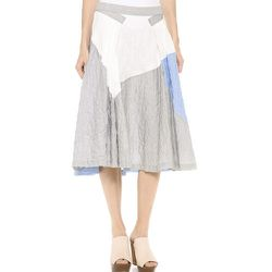 """<strong>10 Crosby Derek Lam</strong> Full Skirt, <a href=""""http://www.shopbop.com/full-skirt-10-crosby-derek/vp/v=1/1532087646.htm?folderID=2534374302084993&fm=other-shopbysize-viewall&colorId=17068"""">$325</a> at Shopbop"""
