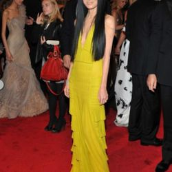 The designers looked amaze, too: like Vera Wang in a…is it chartreuse? Screaming yellow zonker? Whatever, awesome.