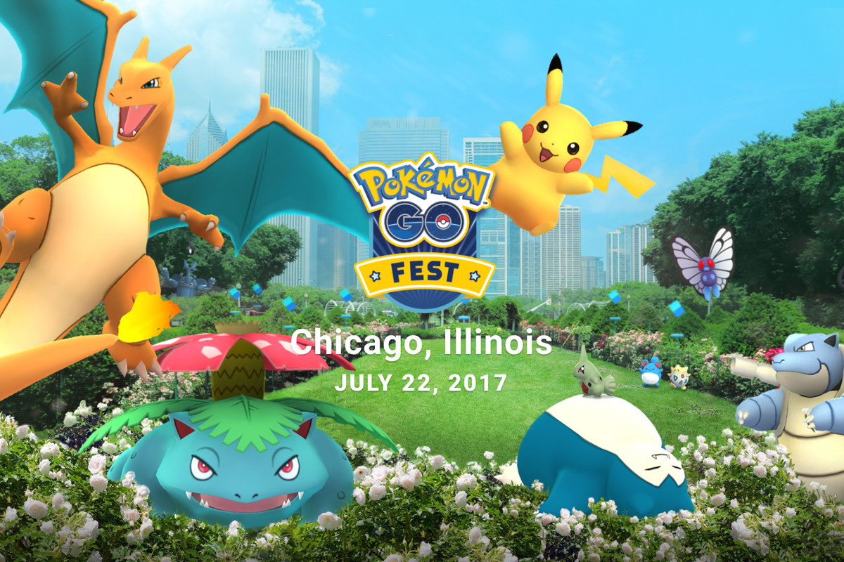 Pokemon Trainers Looking for a Reliable Connection at PokemonGo Fest