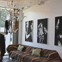 Erin Wasson's boho lair, imagined at the Pascal Mouawad showroom