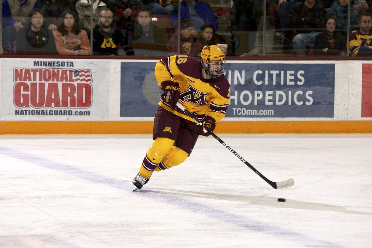 University of Minnesota senior Nate Condon