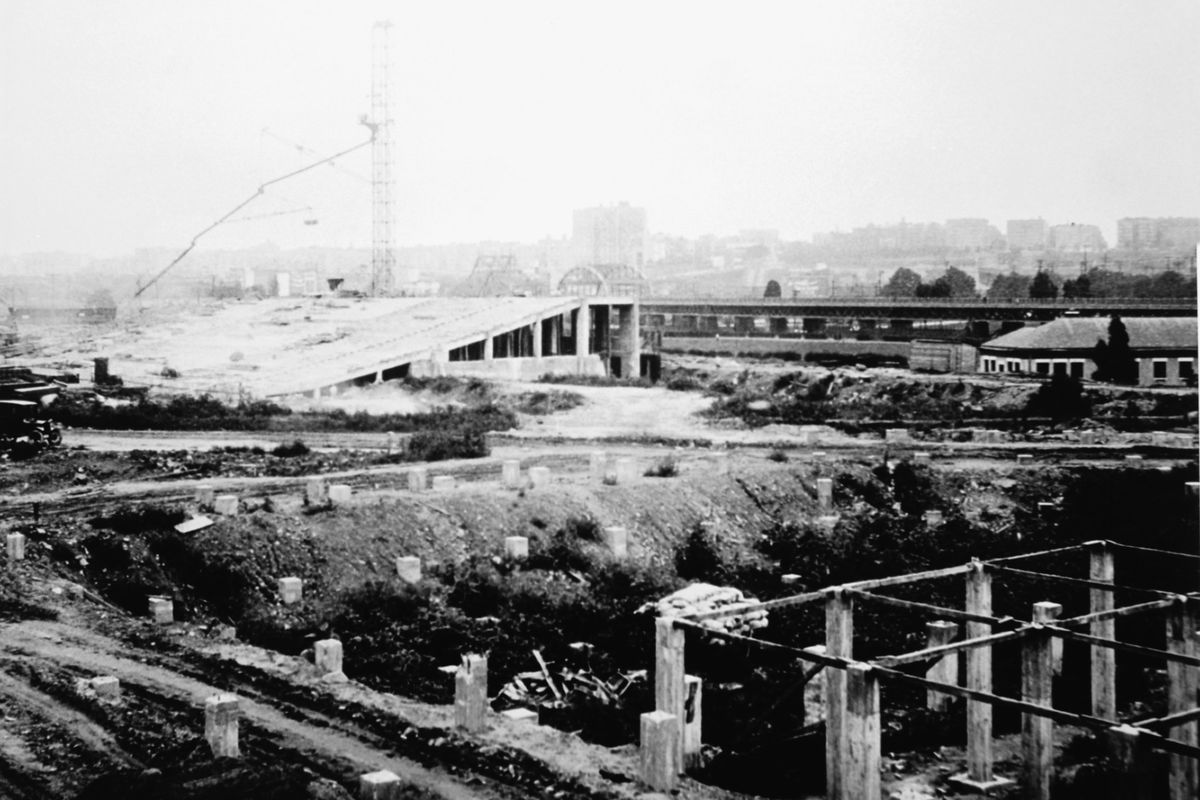 Yankee Stadium Construction - New York Yankees