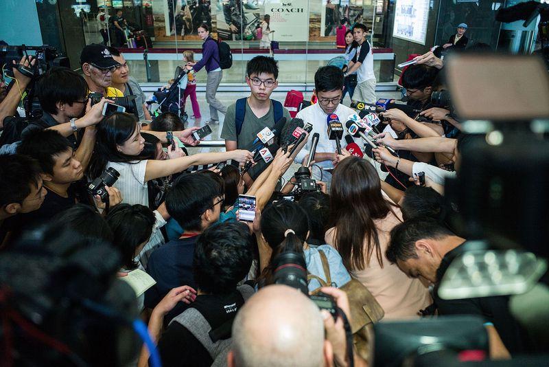 Hong Kong Protest Leader Joshua Wong Detained In Bangkok