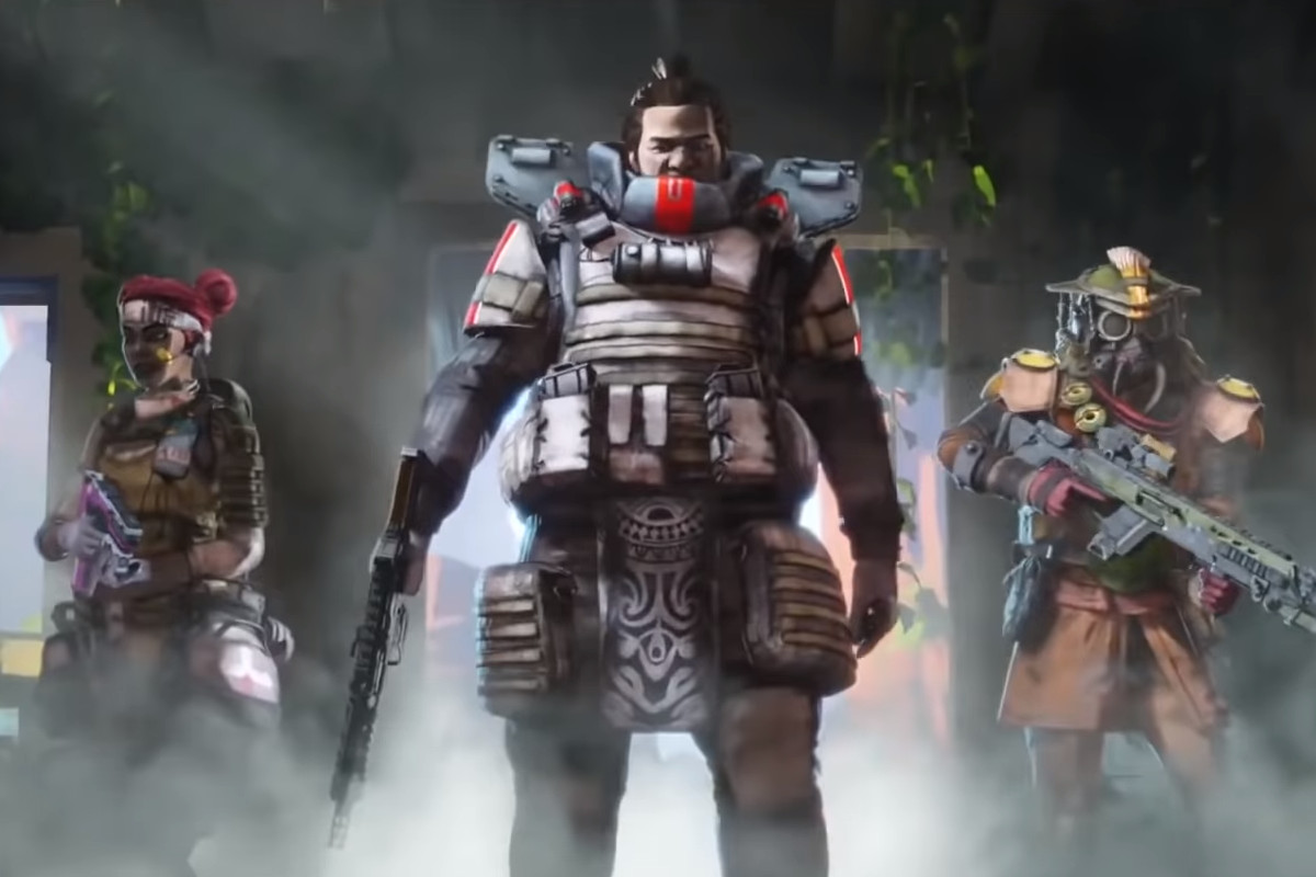 Apex Legends - A squad enters a room