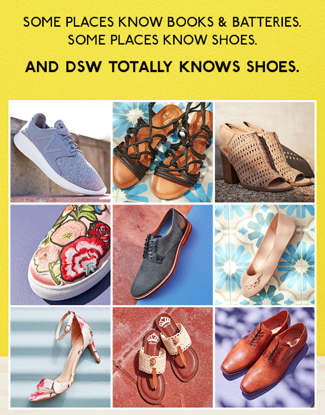 A flyer for DSW advertising a 30% off sale