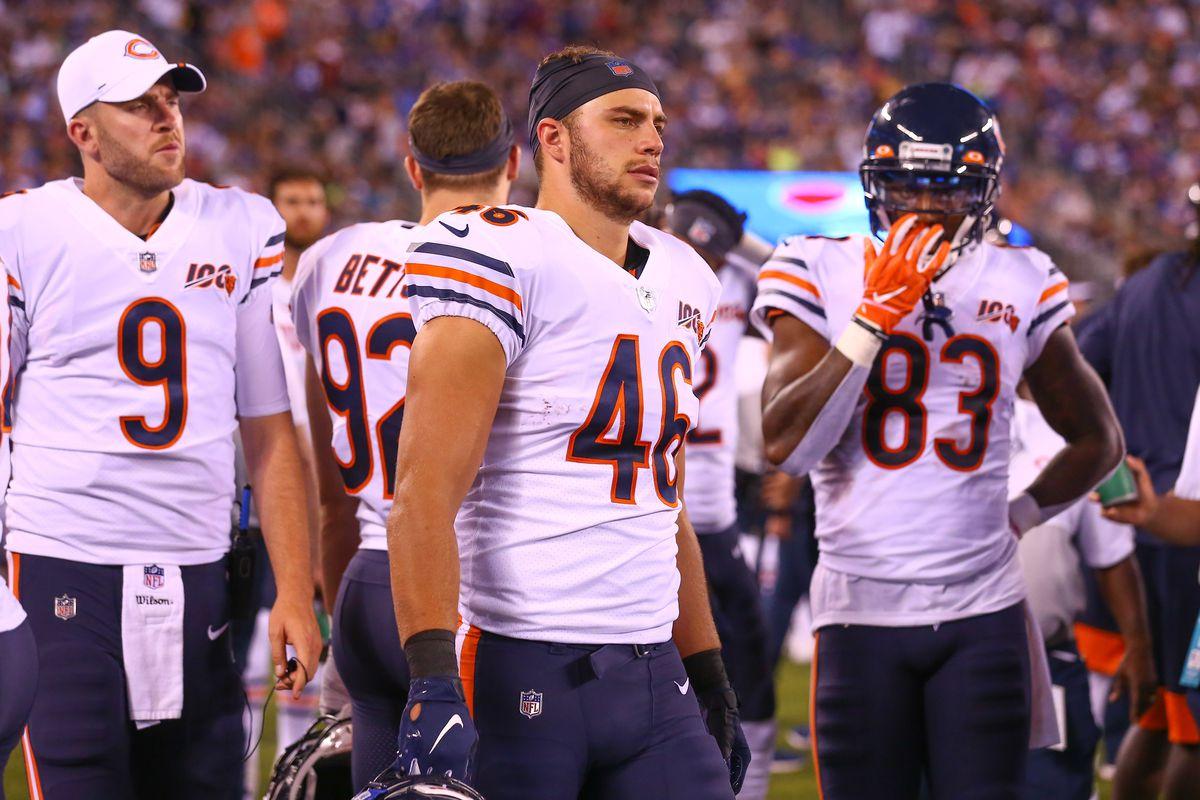 NFL: AUG 16 Preseason - Bears at Giants