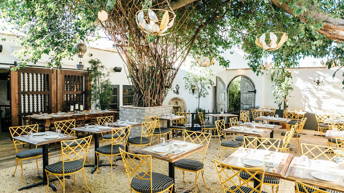 bacari s prime patio hides from sight along west third street eater la