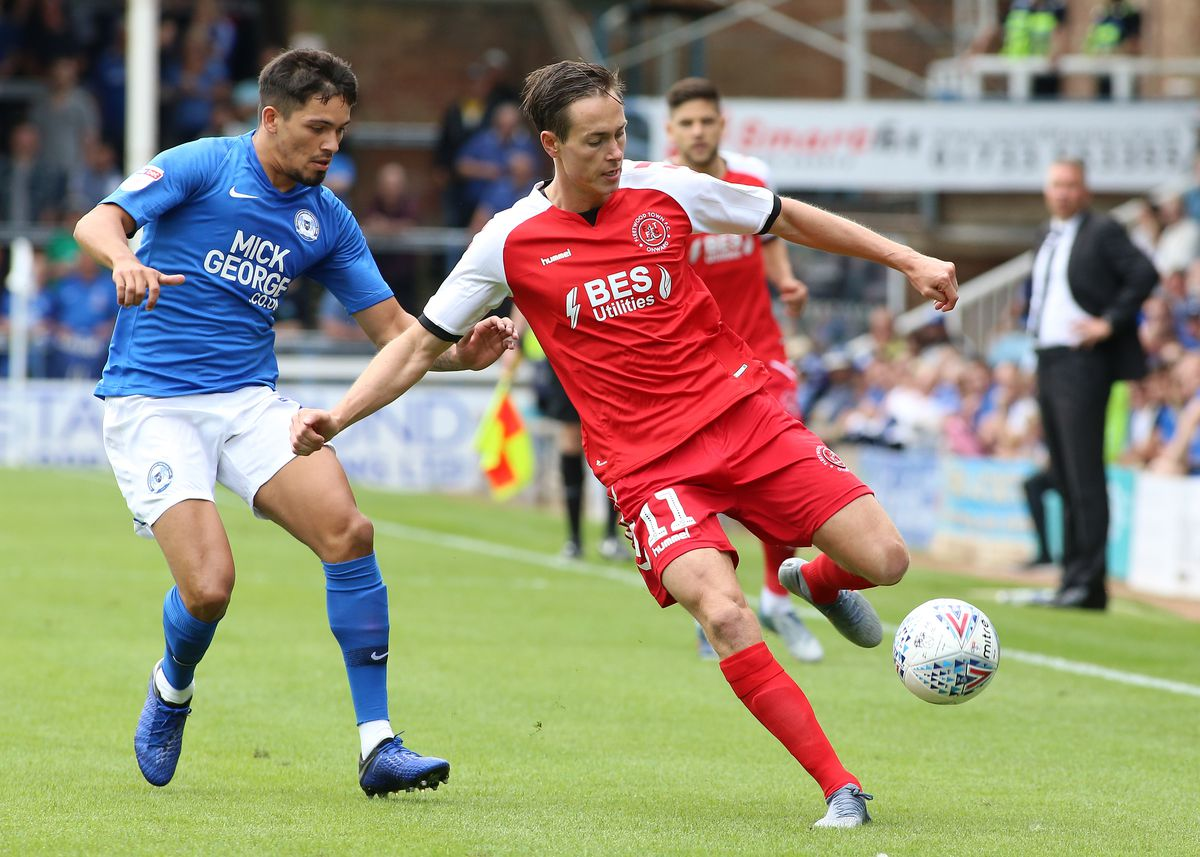 Peterborough United v Fleetwood Town - Sky Bet Leauge One
