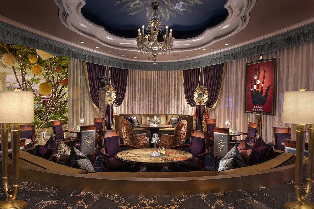 A seating area at Overlook Lounge