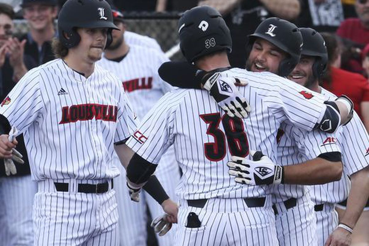 Louisville holds off Xavier 8-7 to win regional championship