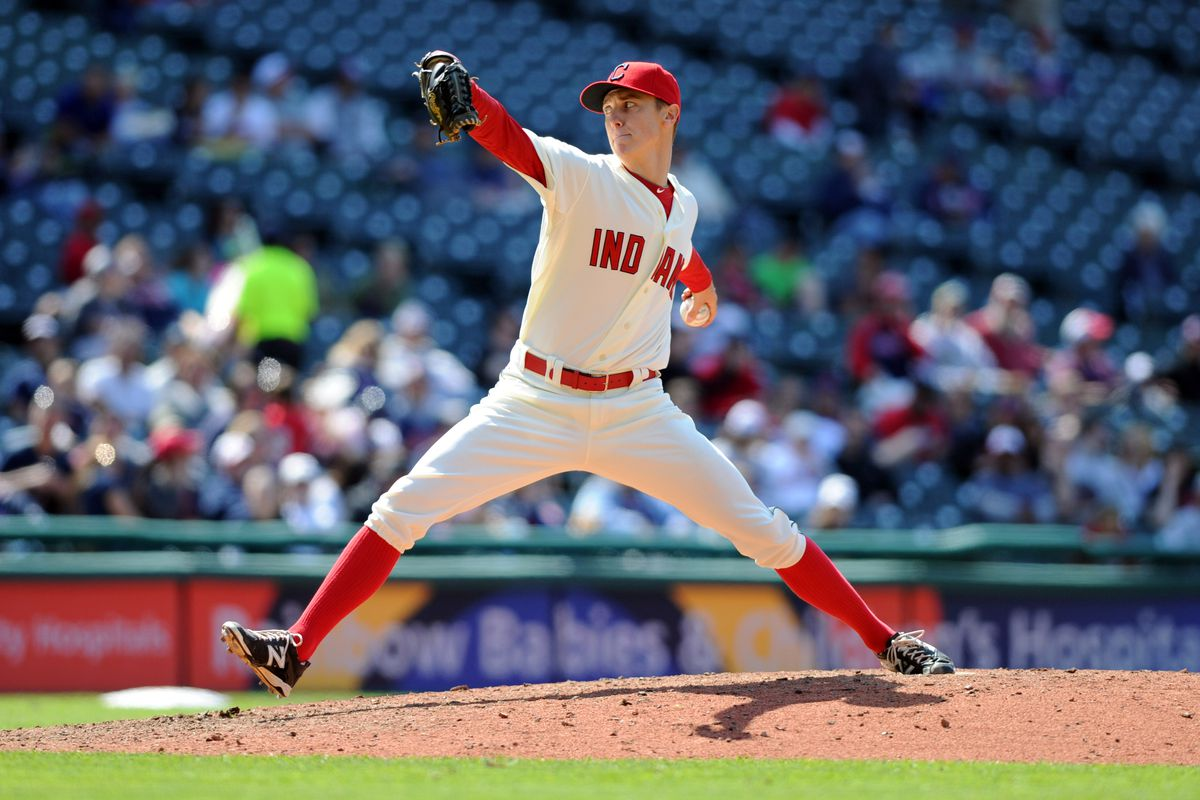 Kyle Crockett is pitching well in Cleveland.