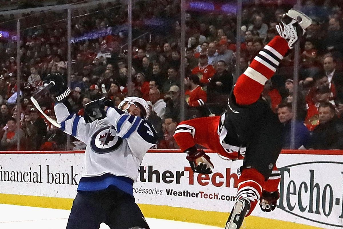 Winnipeg Jets v Chicago Blackhawks