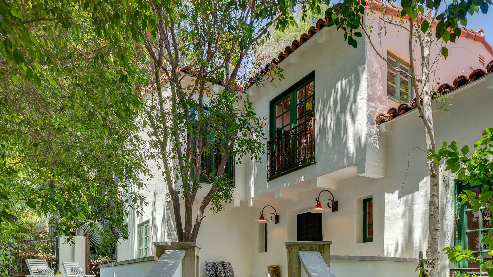 1925 Mediterranean Style House Above The Sunset Strip