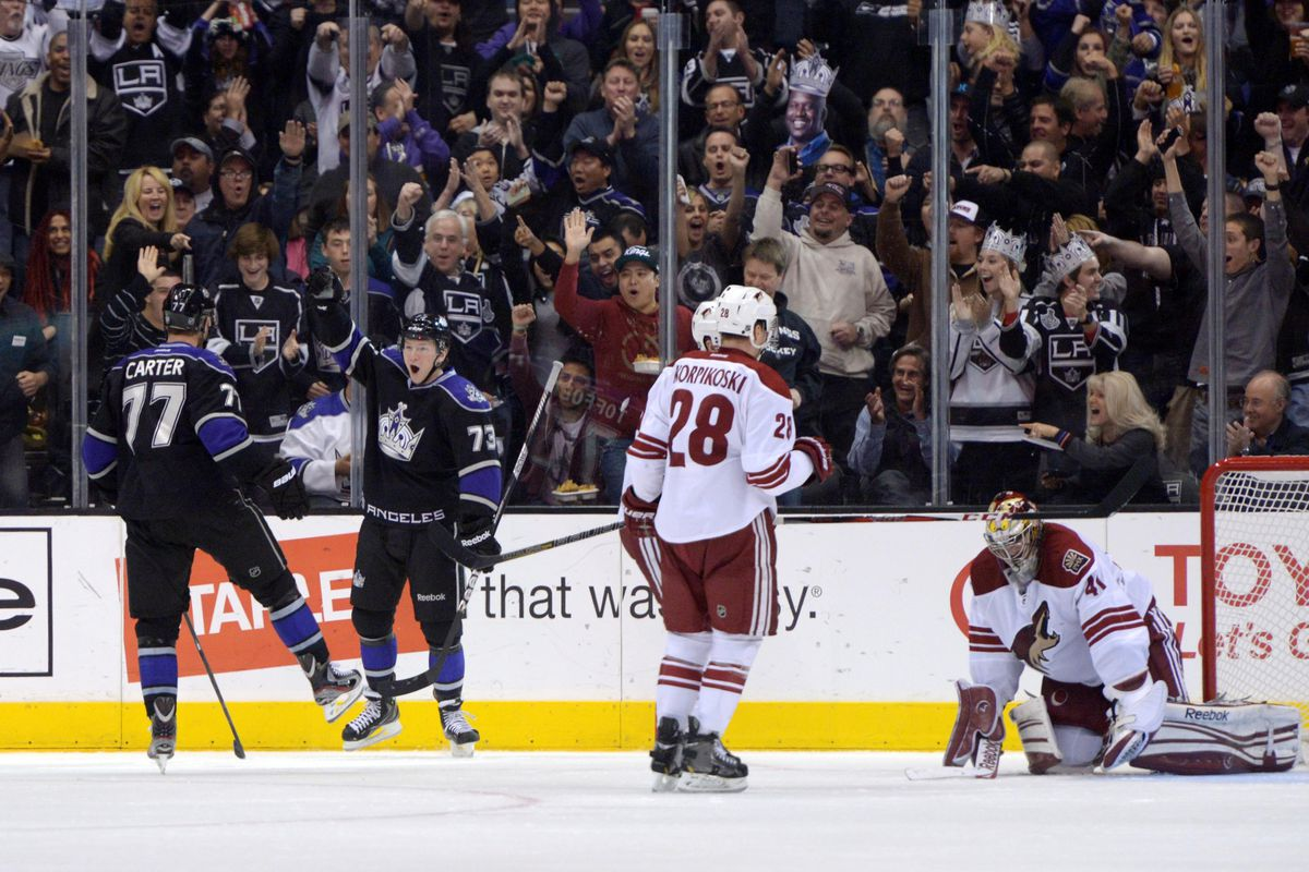 Toffoli's on the board! Mike Smith was sad.