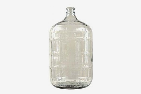A glass carboy