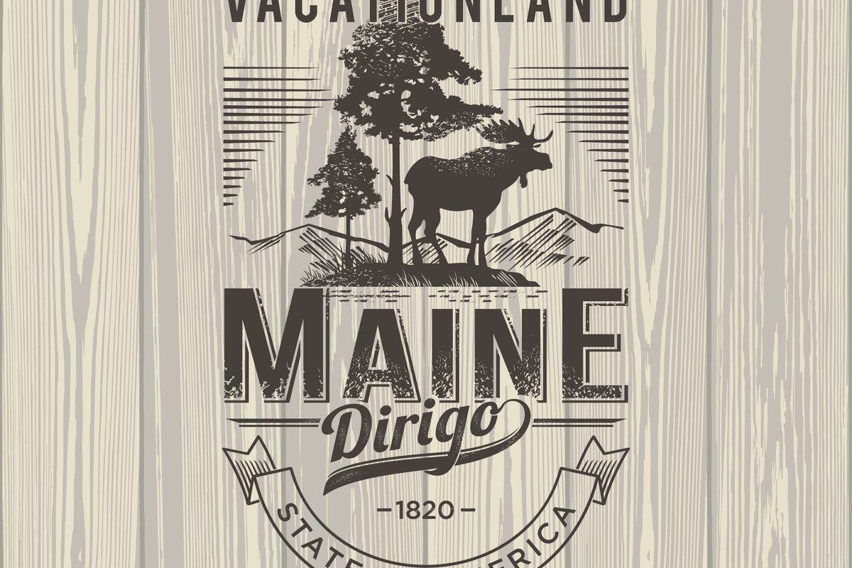 Maine vacationland.