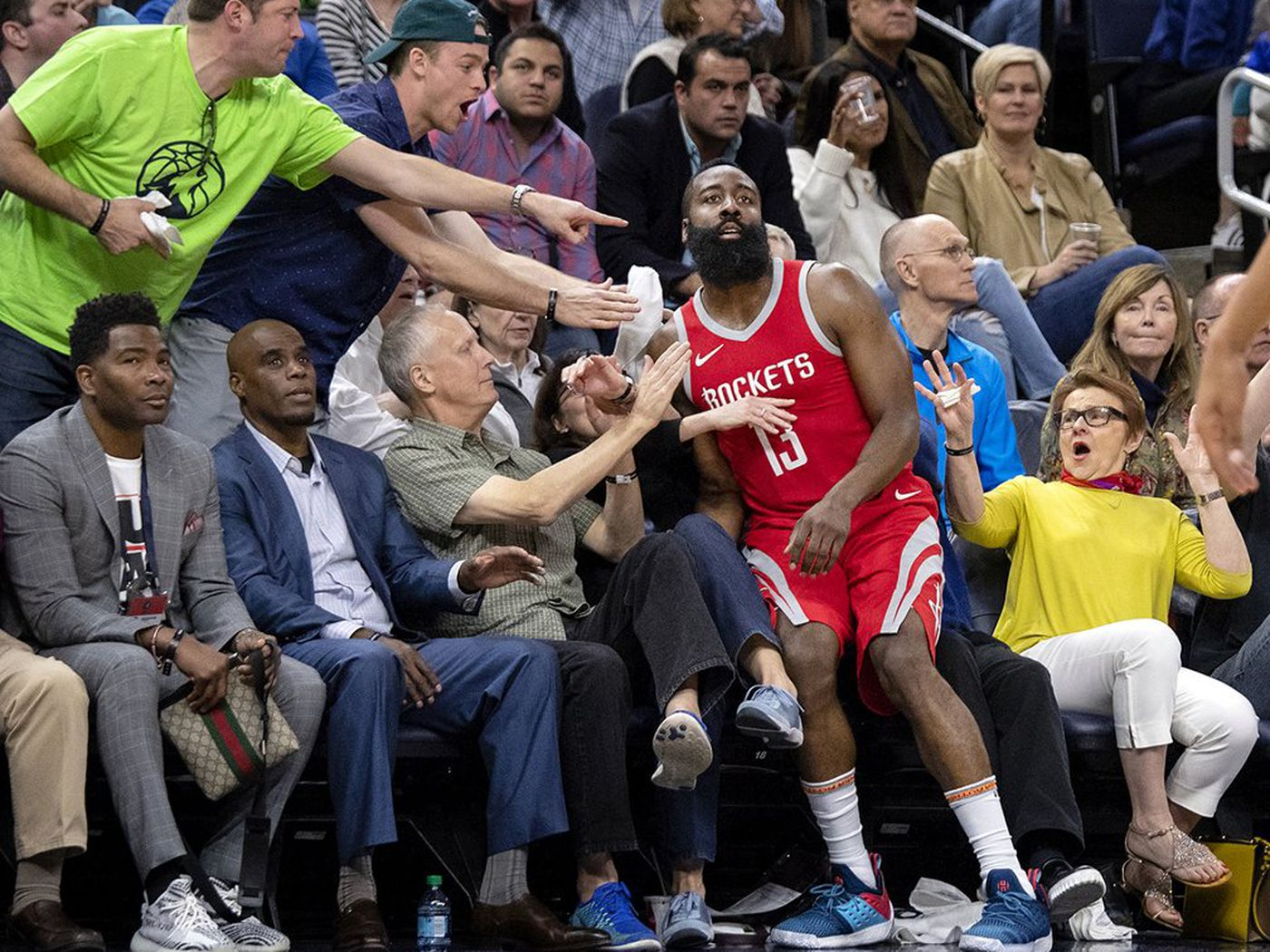 d78e6c600a69 Twitter turned this James Harden photo into renaissance art - SBNation.com