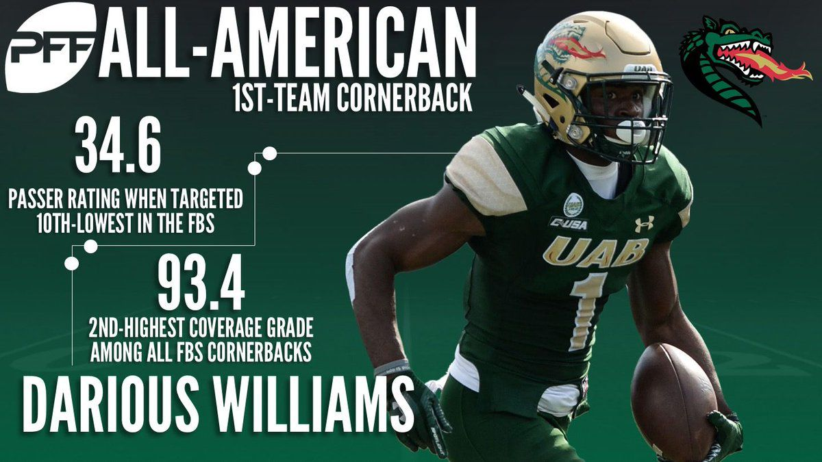 NFL Draft 2018: Why isn't anyone talking about UAB's Darious ...
