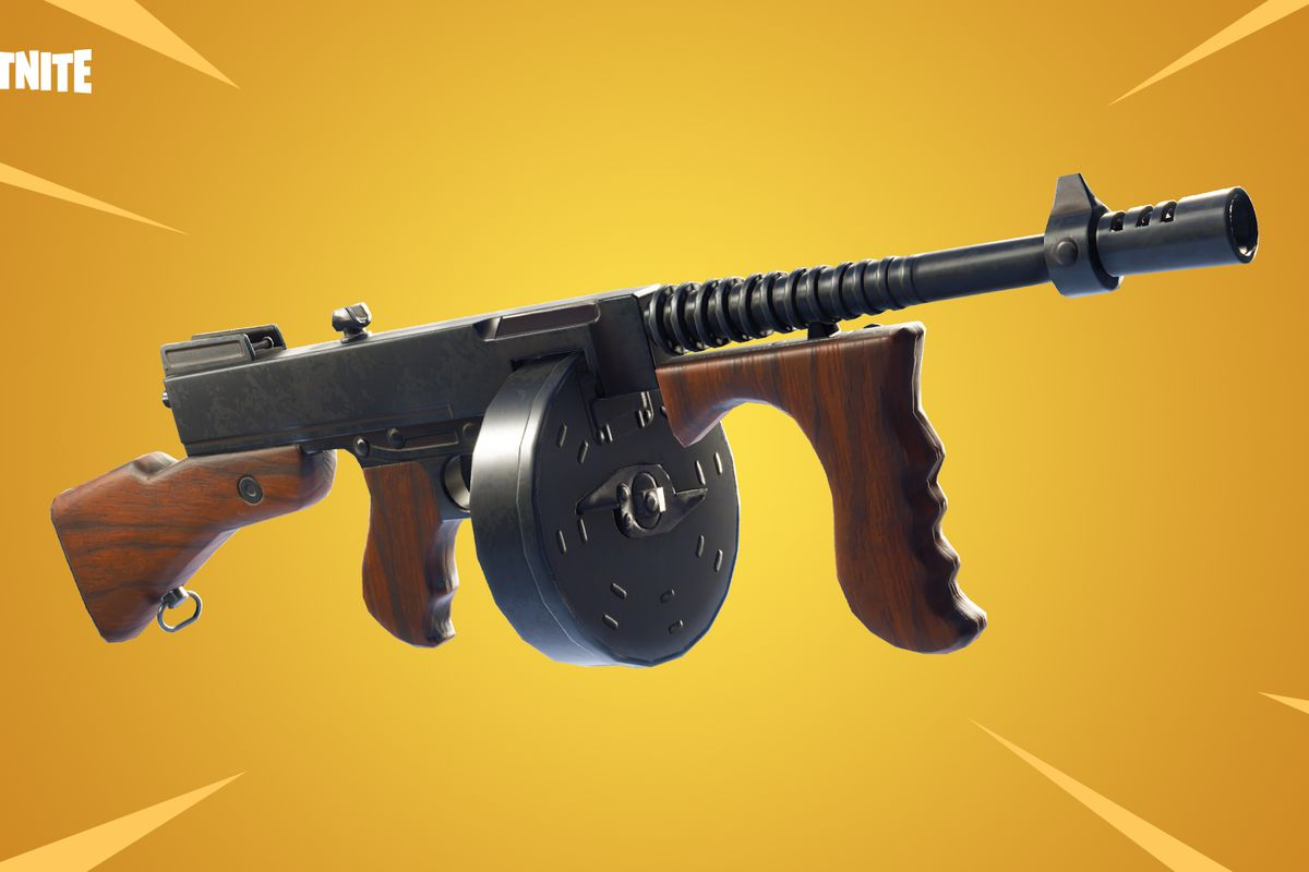 The Drum Gun Comes To Fortnite Polygon