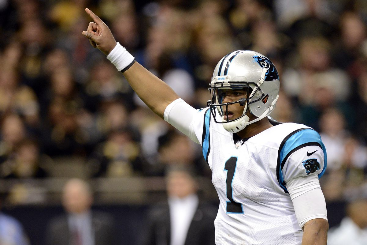 Cam Newton leads the Carolina Panthers to the top