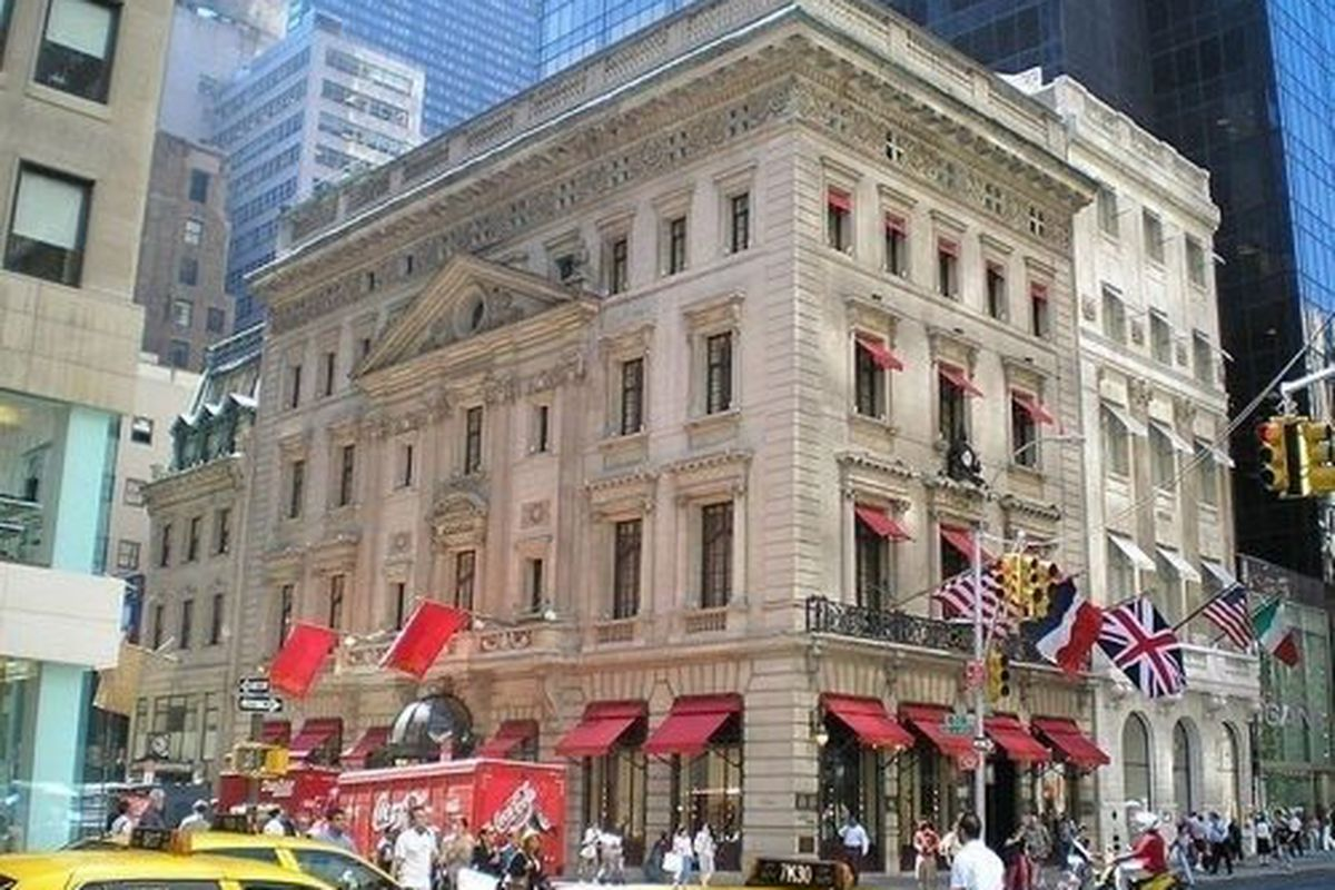 New York's Cartier, still going strong on 5th Ave, via RackedNY