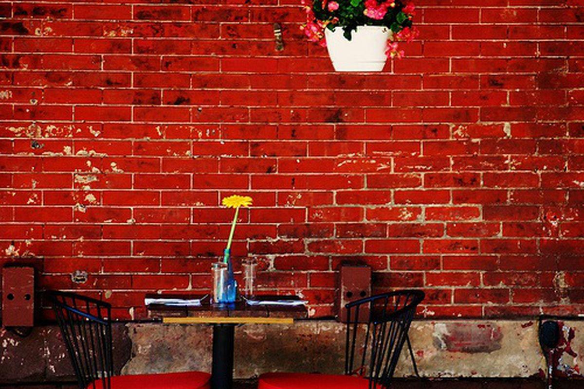 Sidewalk Cafe at Smorgas Chef, West Village