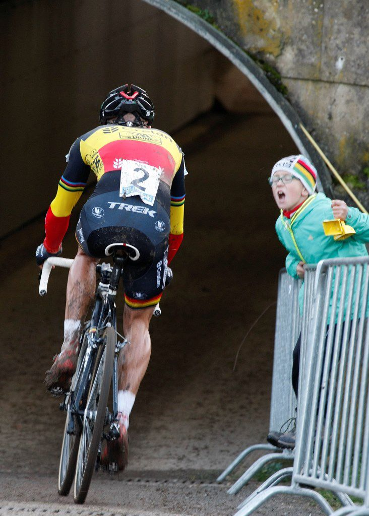 Sven Nys in tunnel