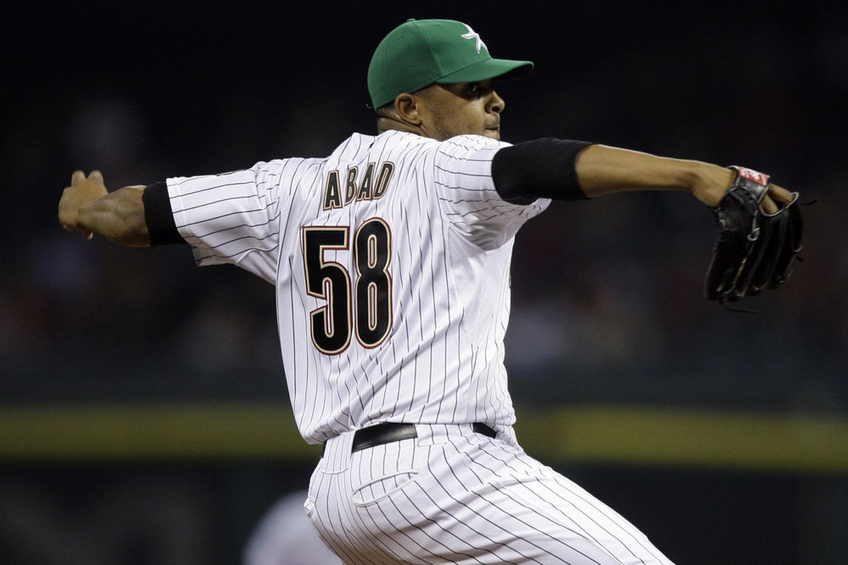 Abad back in the rotation?