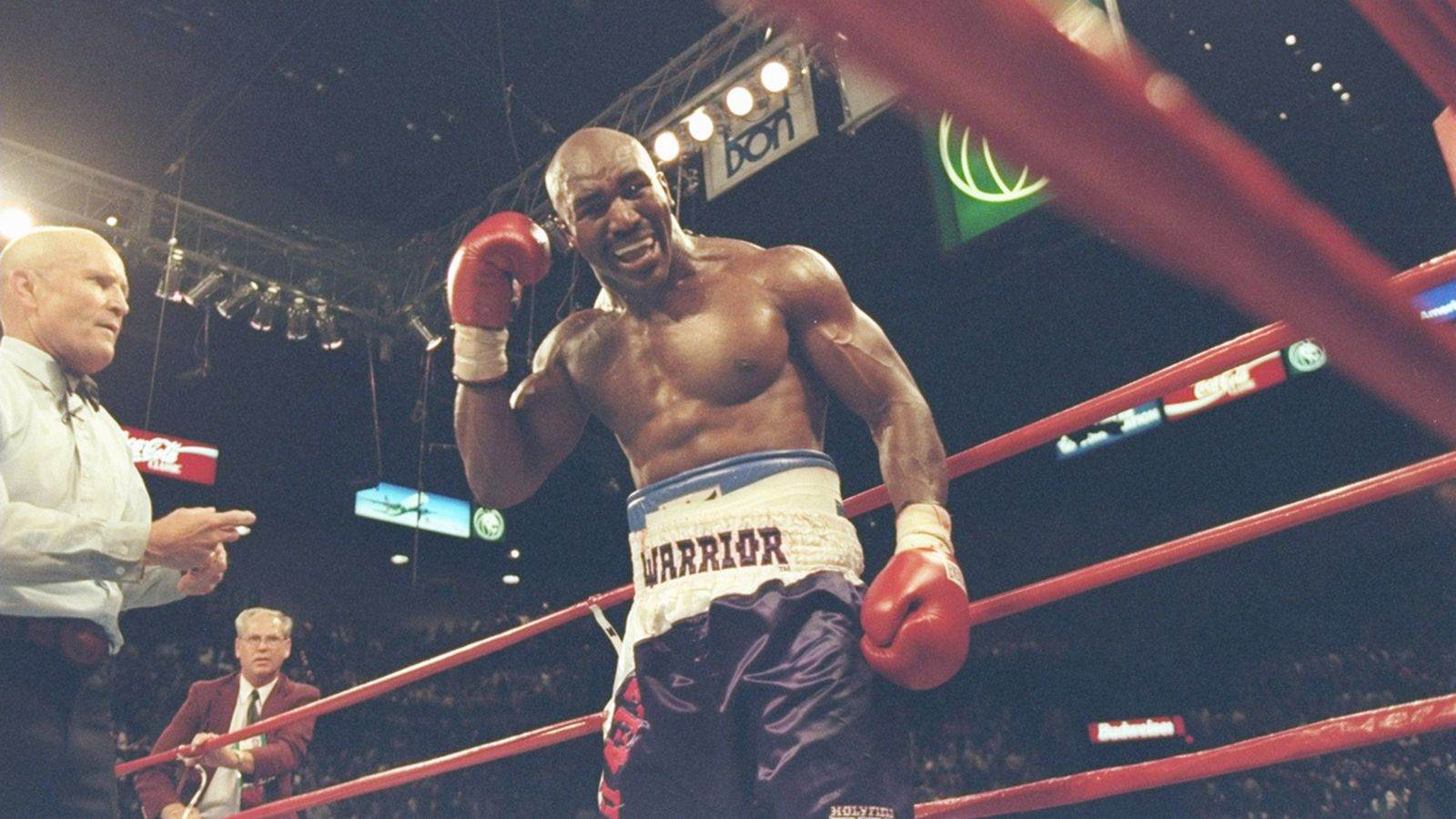 in Great rematch  moments history: Tyson vs heavyweight