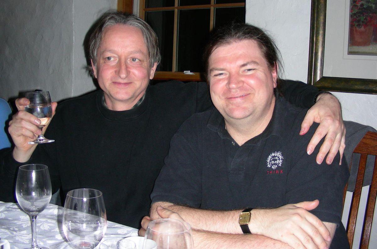 Geoffrey Hinton, Google (left); Yann LeCun, Facebook (right), in 2006