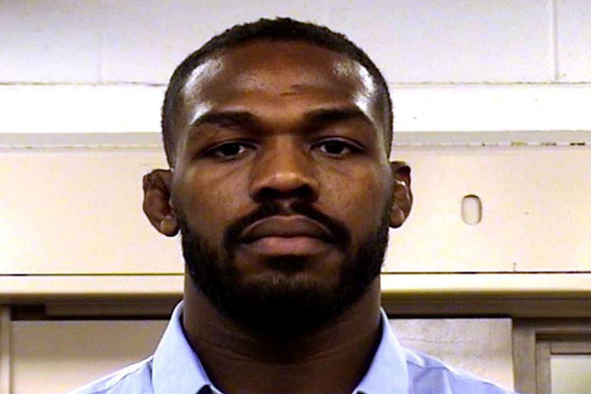 UFC star Jon Jones' mugshot pic released after arrest for hit-and