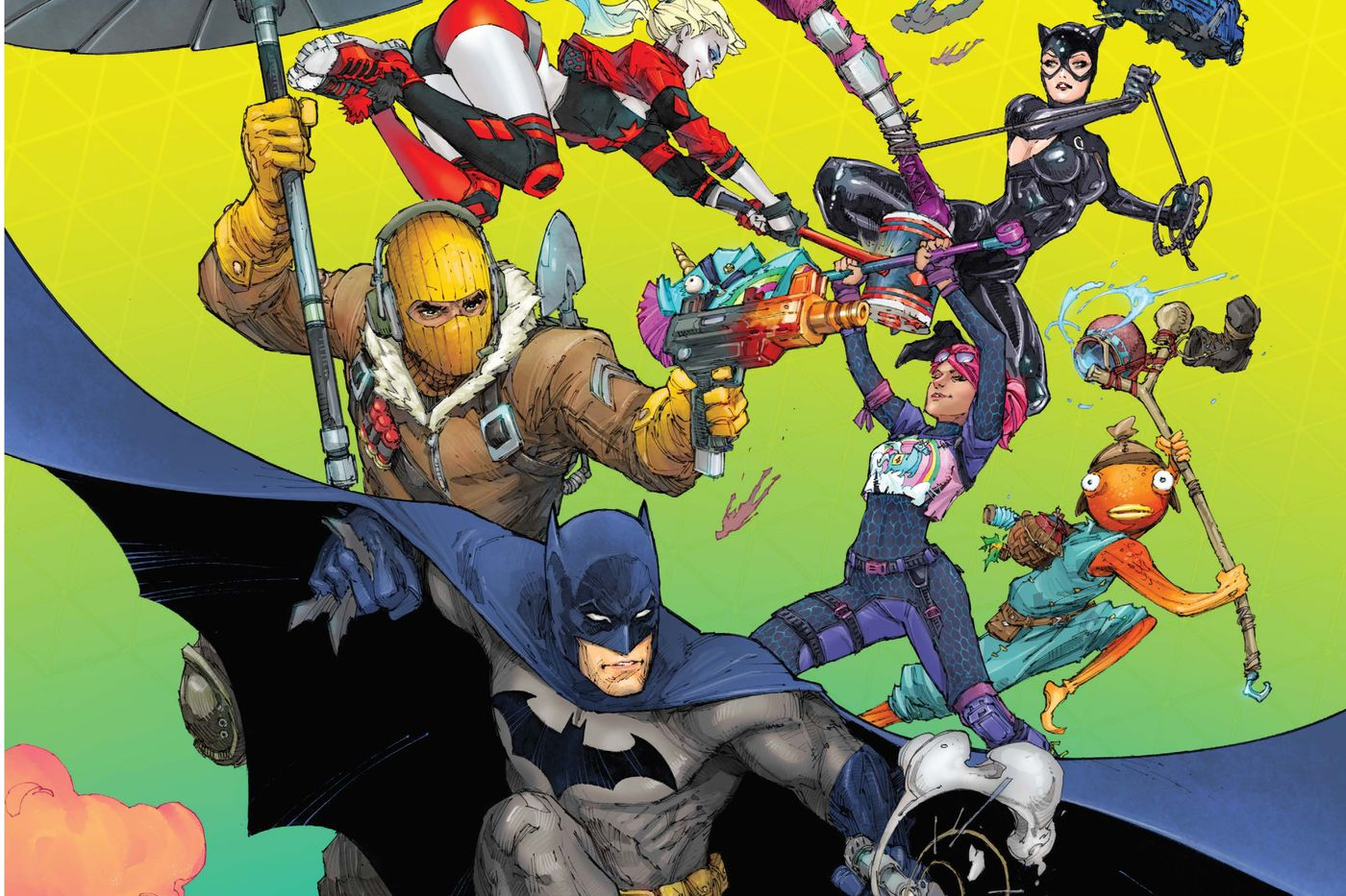 Batman's next comic series is a Fortnite crossover - The Verge