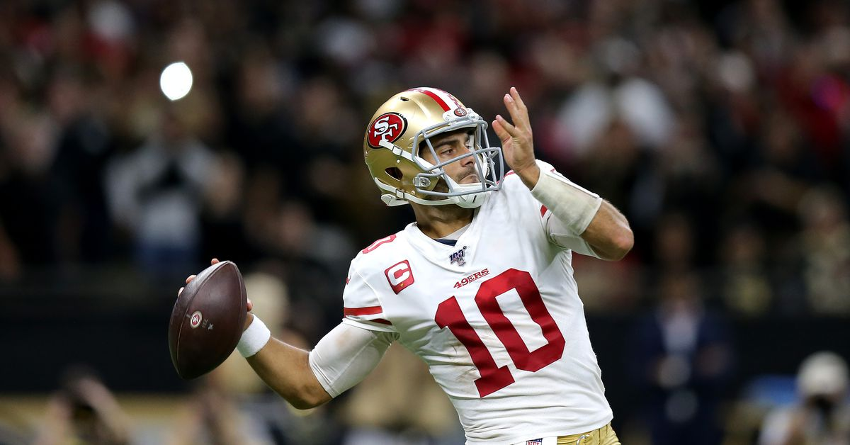 49ers go marching in and upset Saints to take over first place in NFC West