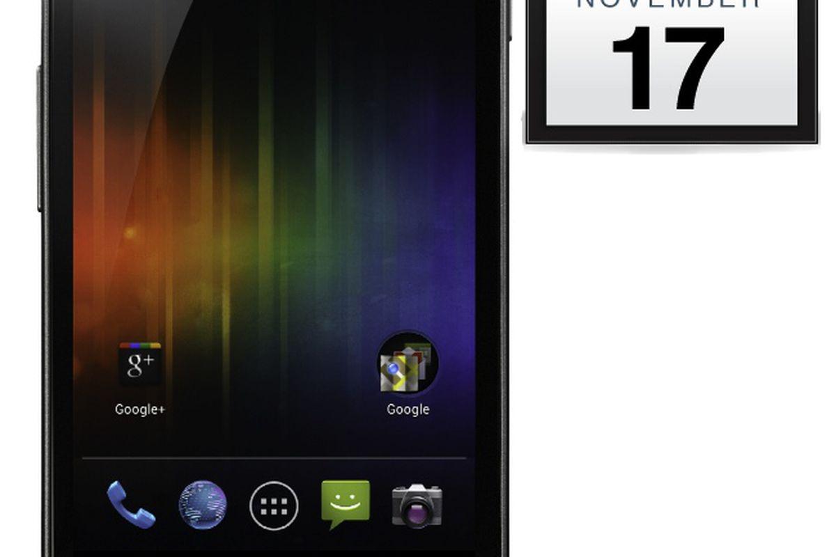 Galaxy Nexus Nov 17