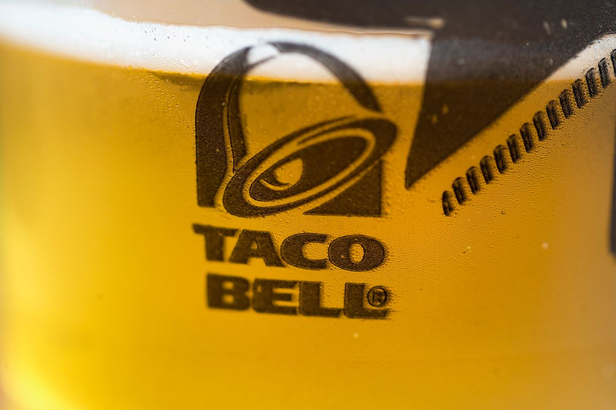 Beer at Taco Bell.