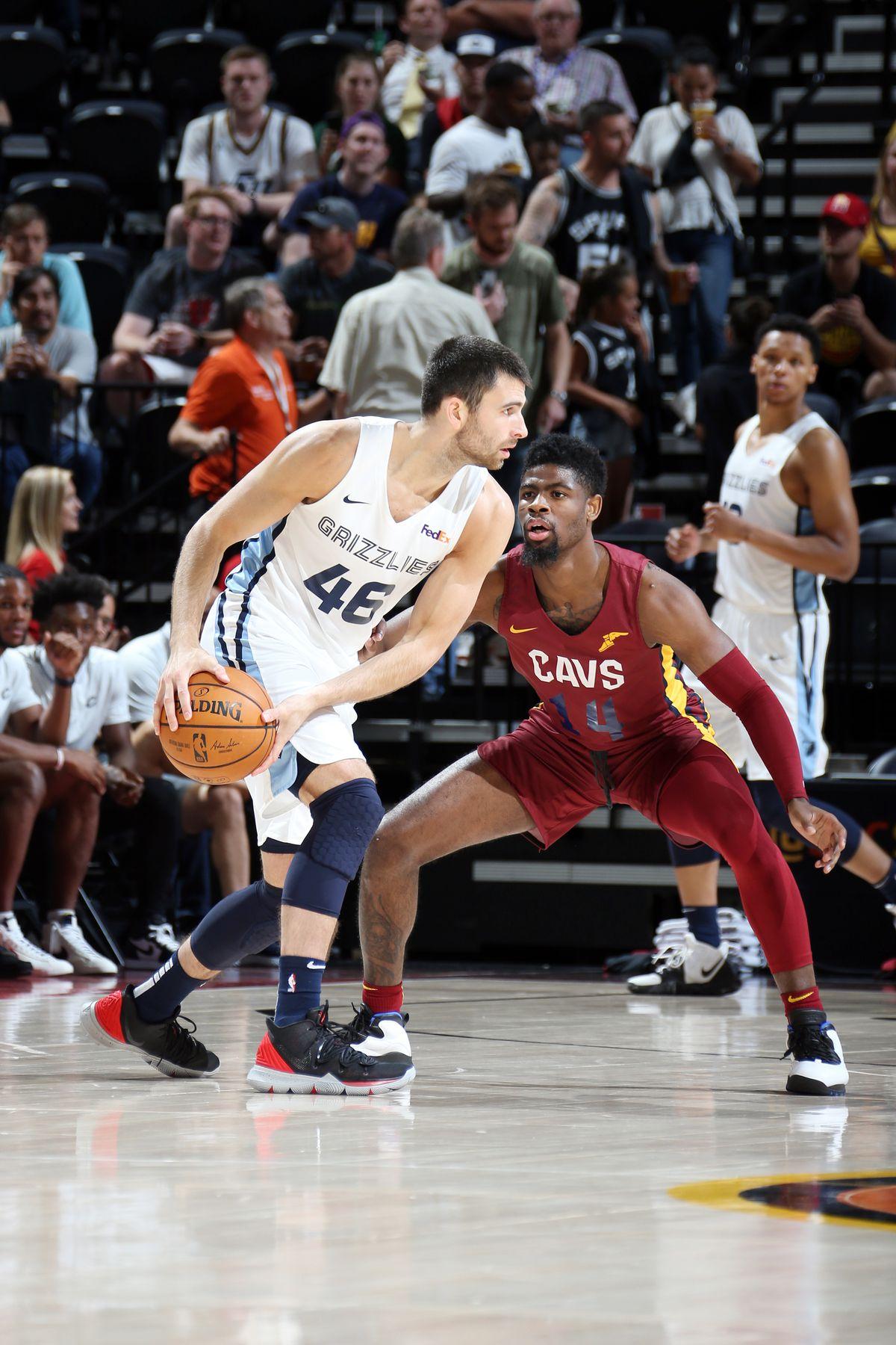 2019 Salt Lake City Summer League - Cleveland Cavaliers v Memphis Grizzlies