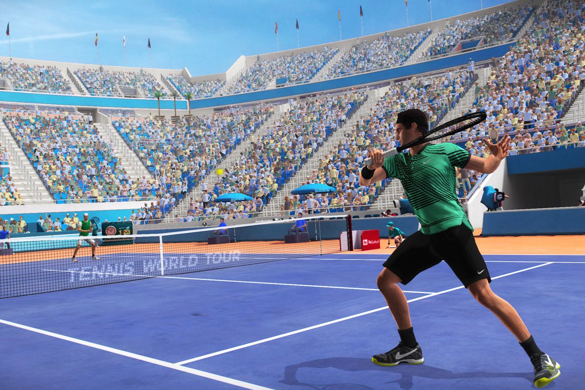 4815ead036 Tennis World Tour puts a top spin on the career mode - Polygon