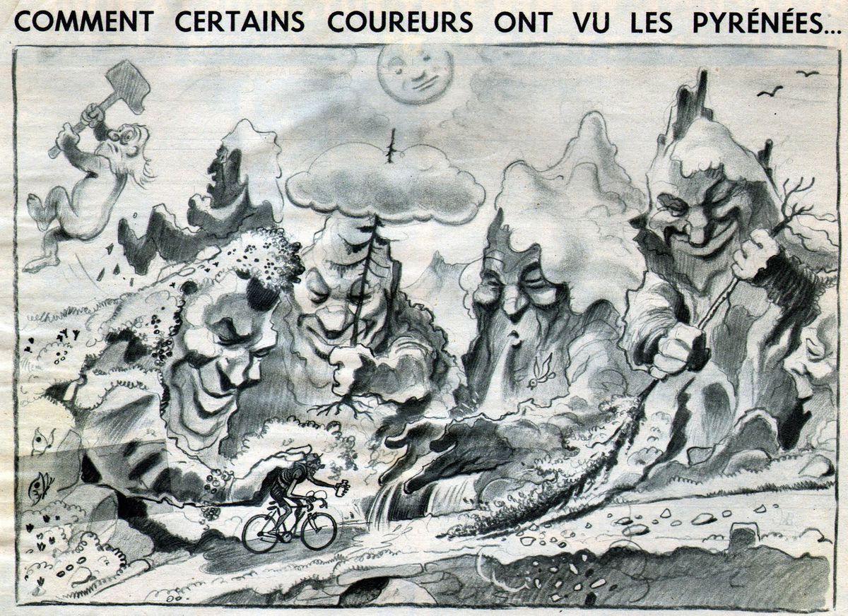 Pellos: How some riders saw the Pyrénées