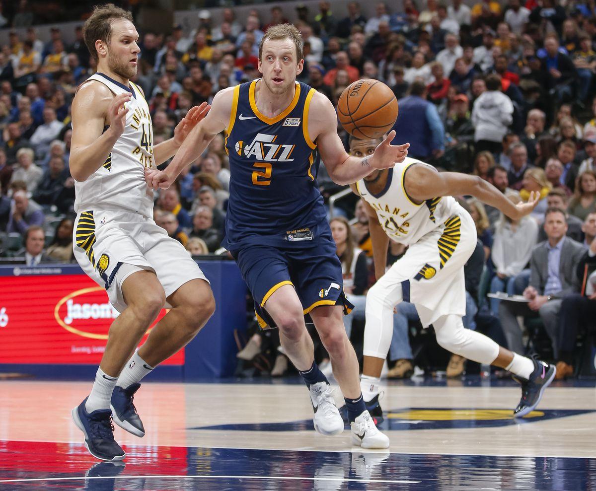 Utah Jazz v Indiana Pacers