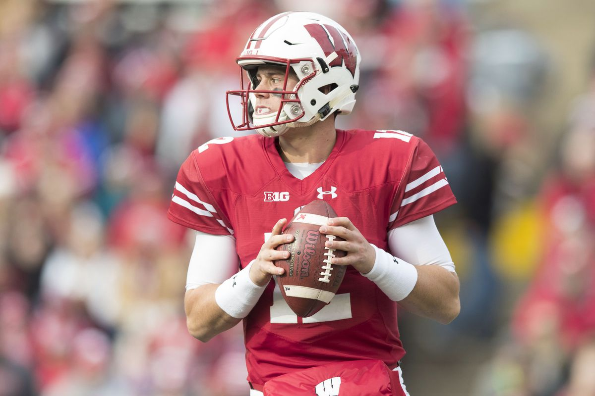 best sneakers d4181 1f29a Wisconsin football: Alex Hornibrook to start at quarterback ...