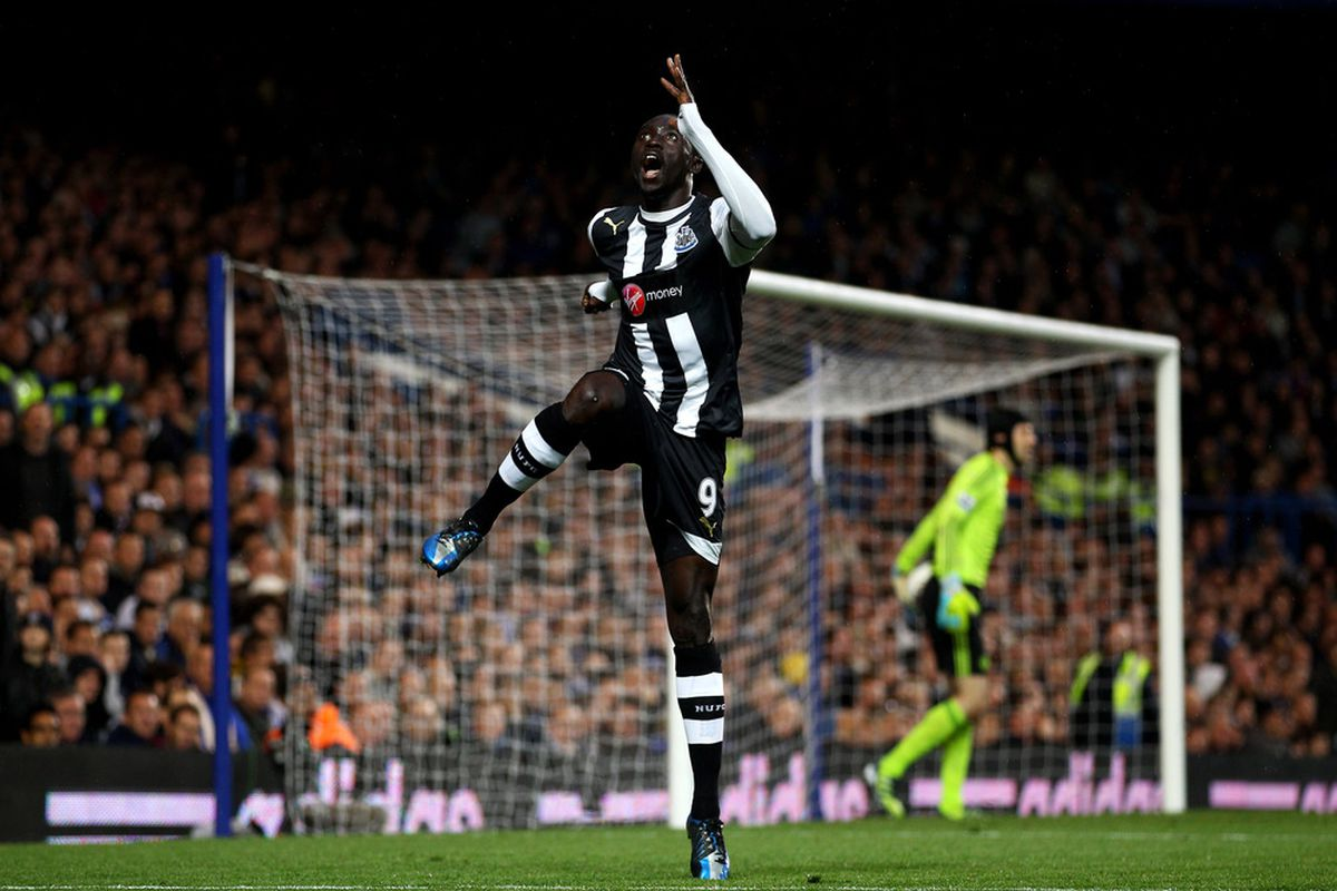 Papiss scored on a header from 20 yards out in the Senegal match v. Ivory Coast.  Will it be enough?