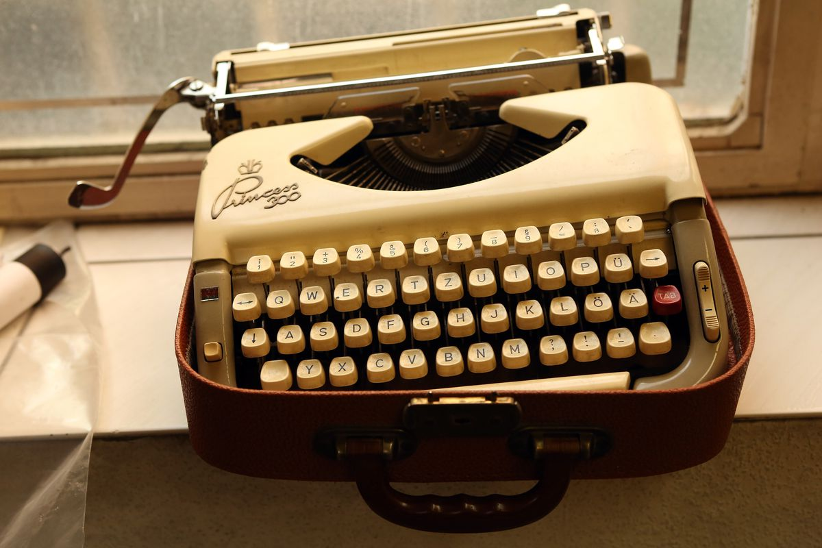 German NSA Investigation Committee Considers Typewriters Out of Data Leak Concerns As Sales Rise